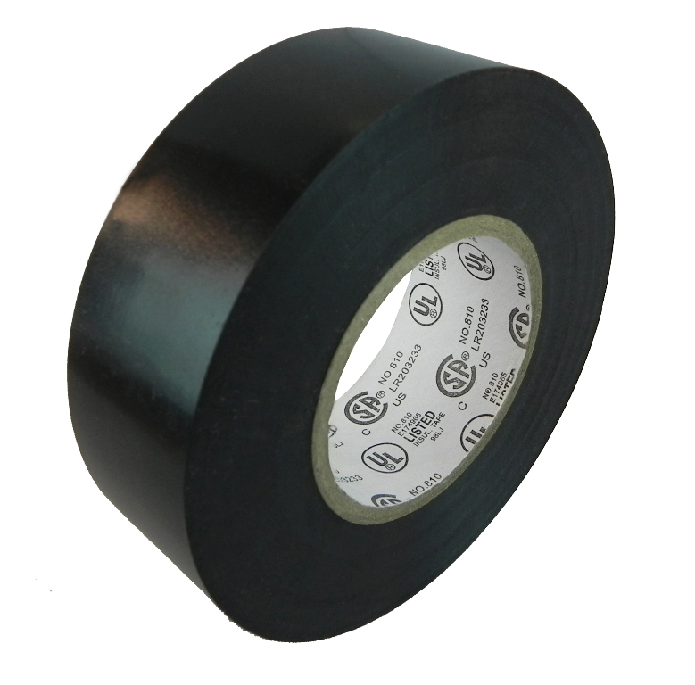 Atd El730aw B Black Electrical Insulation Vinyl Tapes